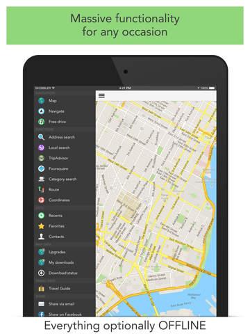 GPS Navigation (Sat Nav) screenshot 9