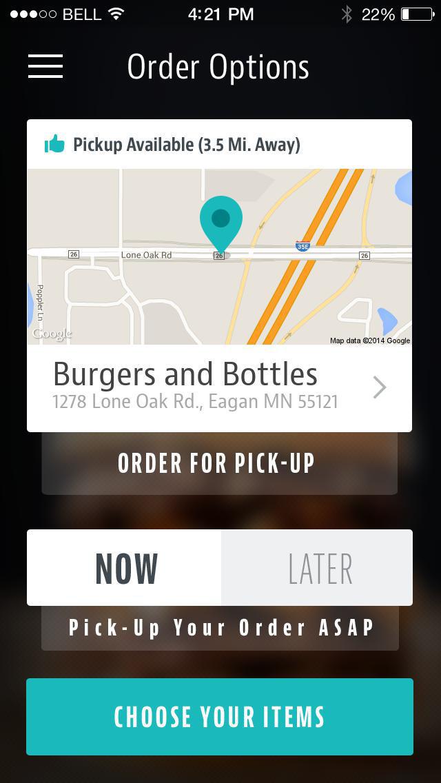 Burgers and Bottles screenshot 2
