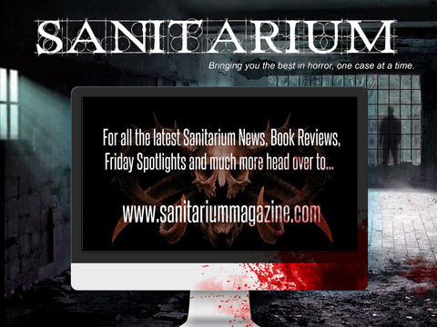 Sanitarium Magazine: Horror Fiction, Dark verse and Macabre Entertainment screenshot 9