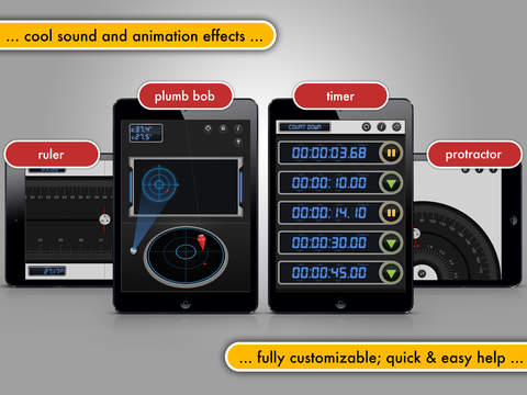 Multi Measures HD - The all-in-1 measuring toolkit screenshot #4