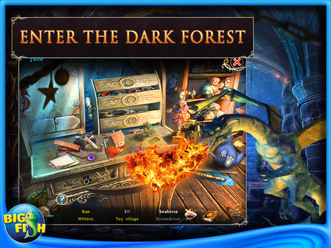 Emberwing: Lost Legacy HD - A Hidden Object Adventure with Dragons screenshot 2