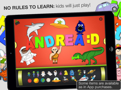 ABC - Magnetic Alphabet HD for Kids screenshot 5