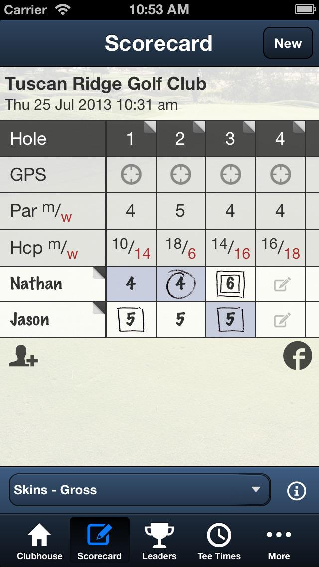 Tuscan Ridge Golf Club screenshot 4