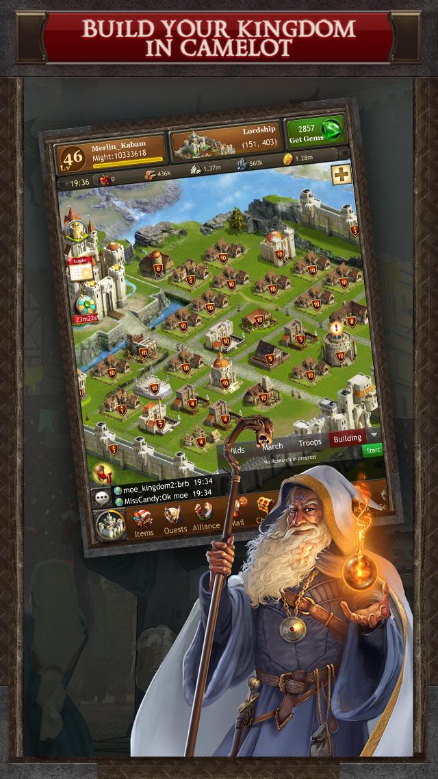 Kingdoms of Camelot: Battle screenshot 2