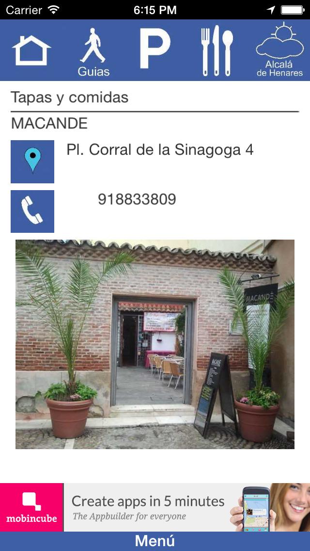 Visitando Alcalá screenshot 1
