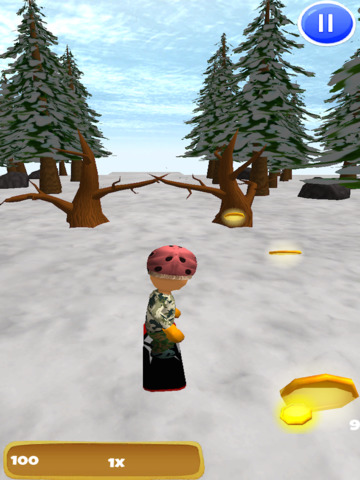 A Freestyle Snowboarder: Extreme 3D Snowboarding Game - FREE Edition screenshot 6