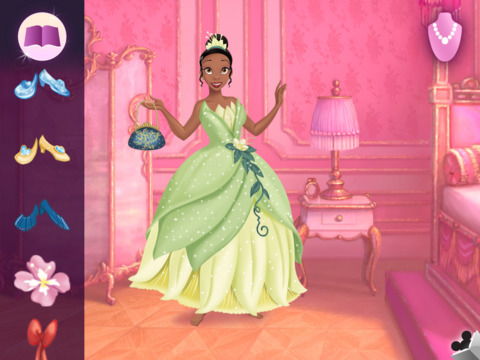 Princess Dress-Up: My Sticker Book screenshot #2