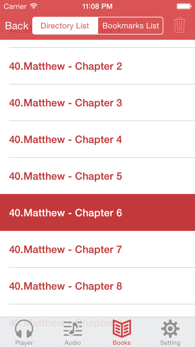 NKJV Bible (Audio & Book) screenshot 5