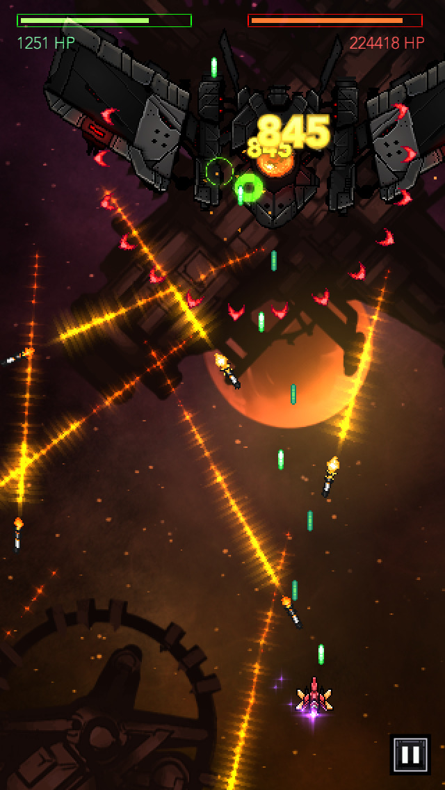 Gemini Strike: Space Shooter screenshot #2