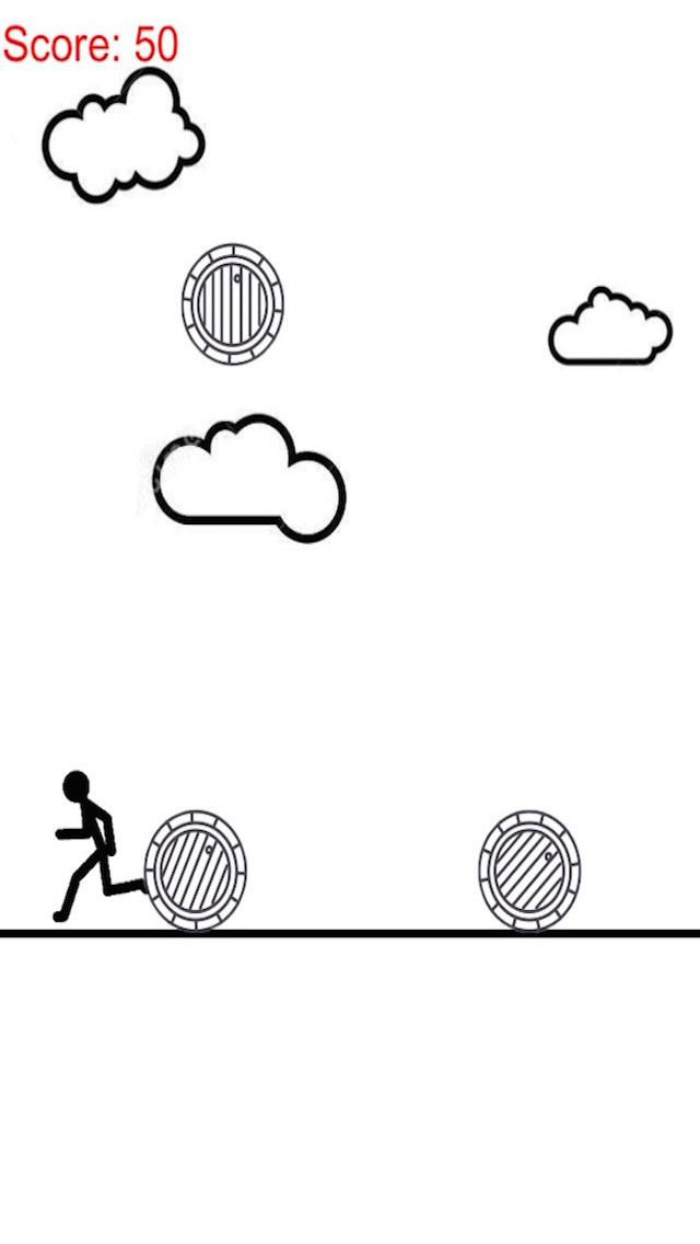 A Stickman On Paper - Raindrop Of Barrel Free screenshot 1