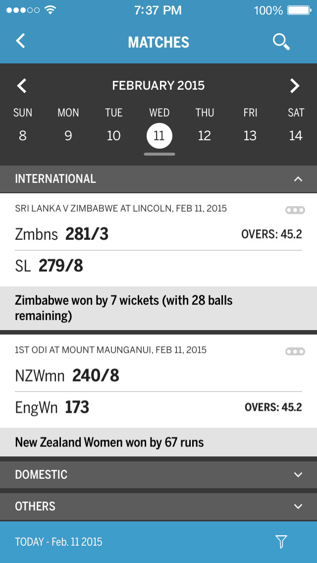 Cricinfo - Live Cricket Scores screenshot 3