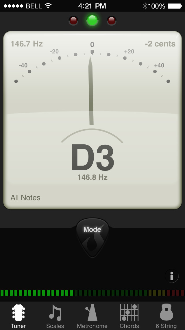 GuitarToolkit - tuner, metronome, chords & scales screenshot 1