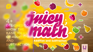 Juicy Math: addition and subtraction screenshot 1