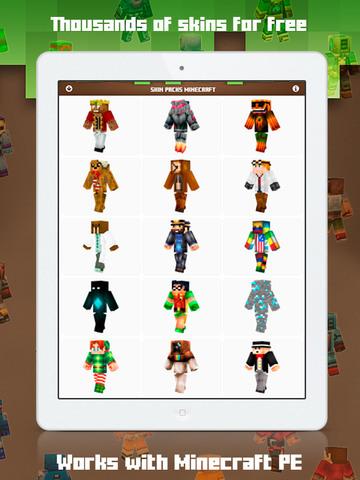 Skins for Minecraft MCPE screenshot 3