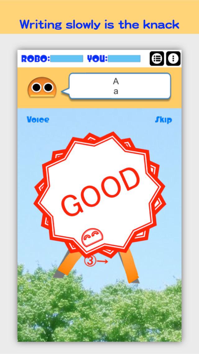 Writing Order Alphabet screenshot 3