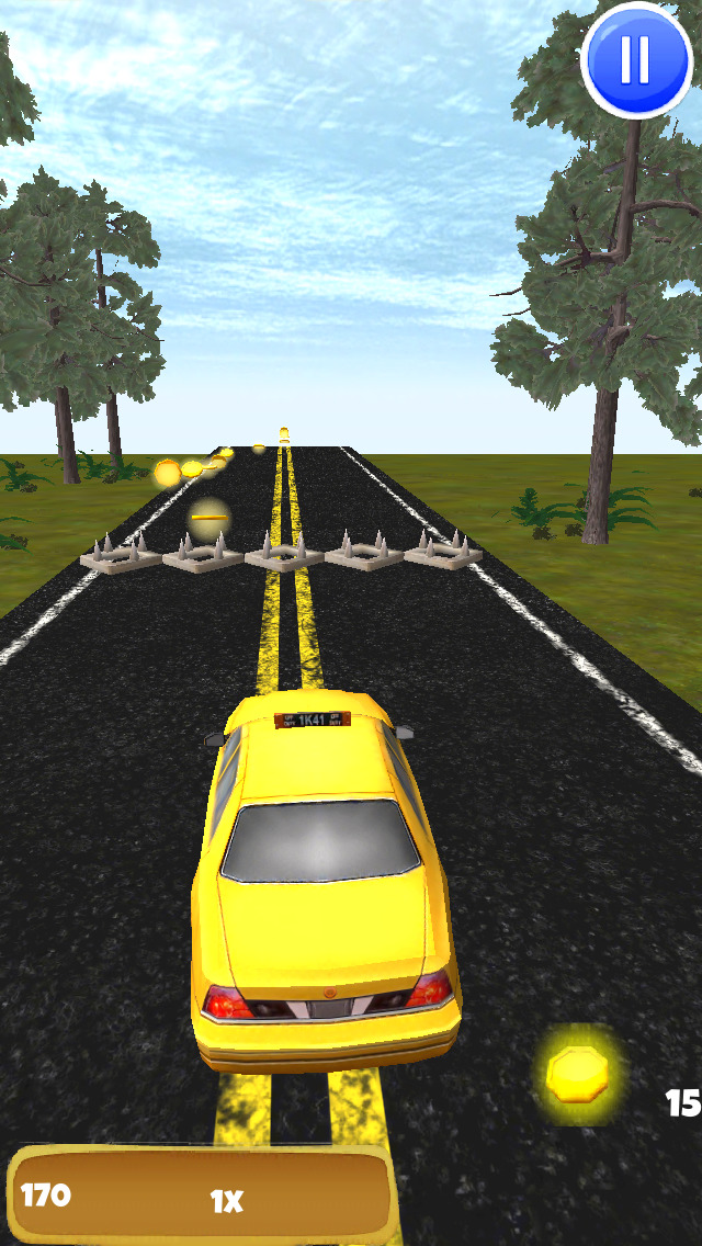 Angry Taxi: 3D Driving Game - FREE Edition screenshot 2