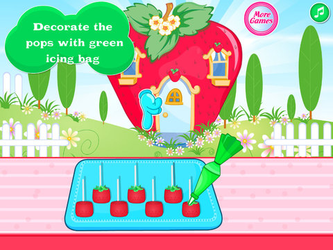 Strawberry Shaped Pops screenshot 7