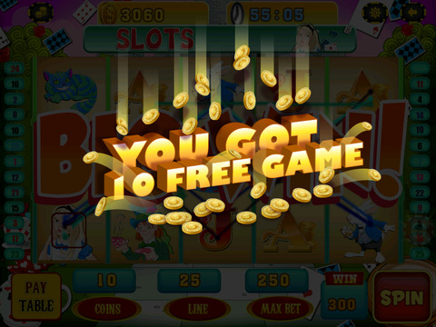 A Lucky Rabbit Slots Game - Vegas Wonderland Casino Games HD screenshot 9