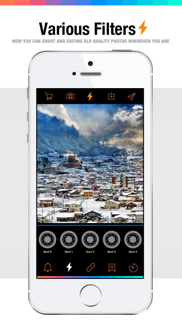 Flash 360 Plus - photography photo editor plus camera effects & filters screenshot 1