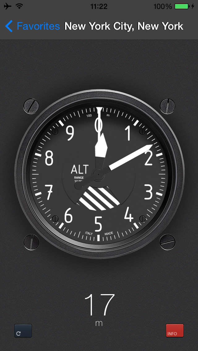 The real Altimeter screenshot 1
