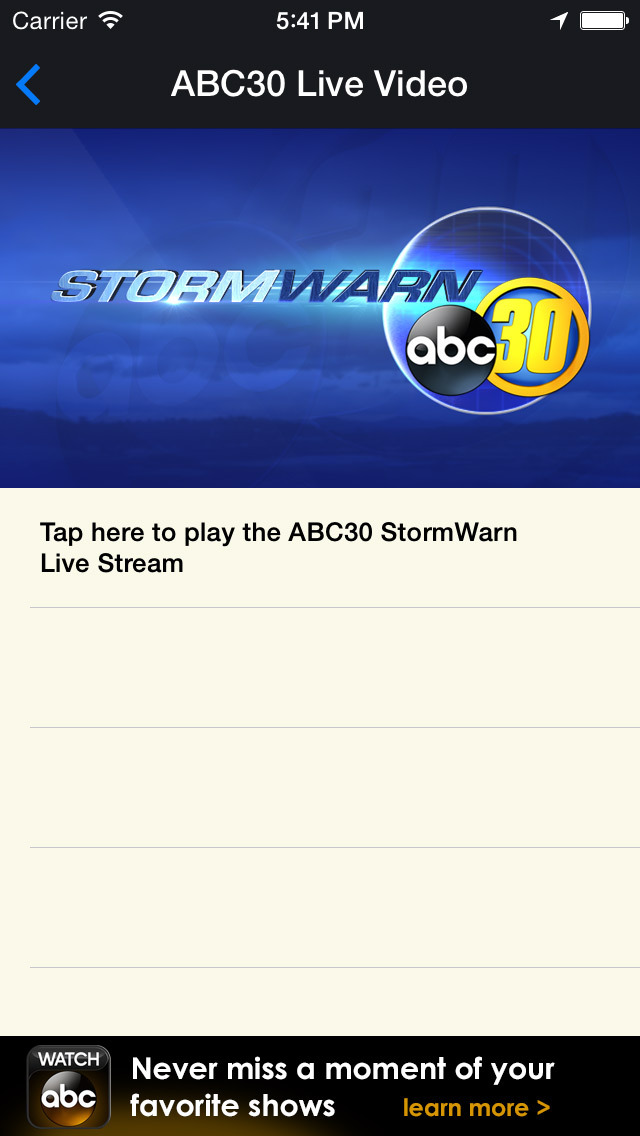 ABC30 StormWarn screenshot 5