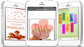 Thank You Cards Maker With Photo Editor.Customise and Send Thank You e-Cards screenshot 5