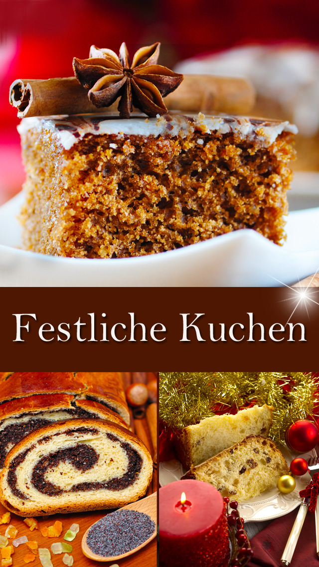 Festliche Kuchen - Rezepte screenshot 1