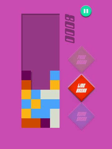 Crack & Pop Tile - Connect And Match Three Square Colors screenshot 5