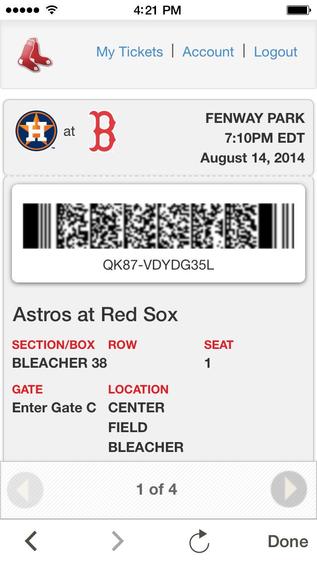 MLB Ballpark screenshot 2