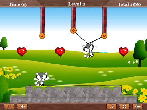 A Diamond Dangle Rope Animal Games For Free Saga screenshot 8