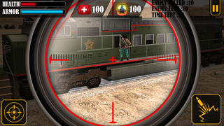 Train Sniper Simulator 3D screenshot 1