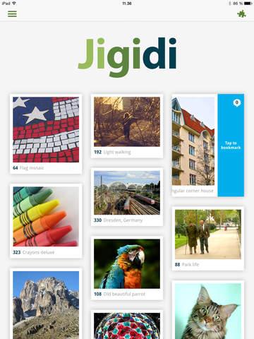 Jigidi - náhled