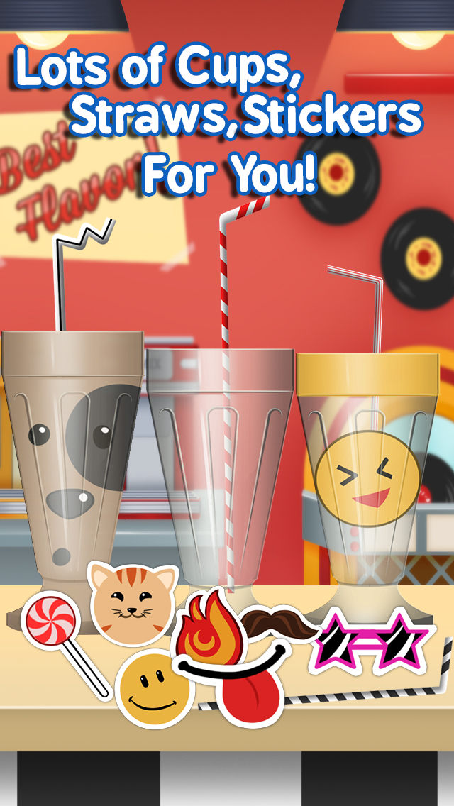 Milkshake Maker Ice Cream Cooking for Kids / Girls screenshot 4