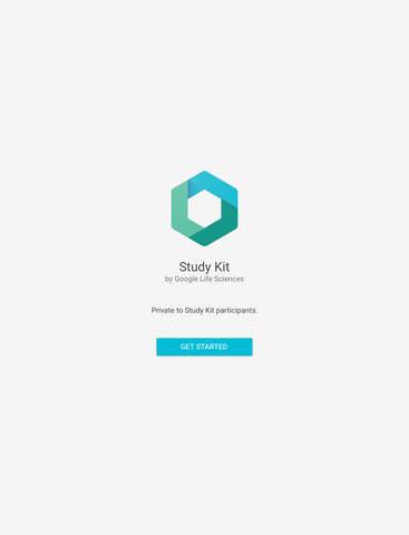 Google Life Sciences Study Kit screenshot 3