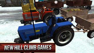 Winter Hill Climb Truck Racing screenshot 2
