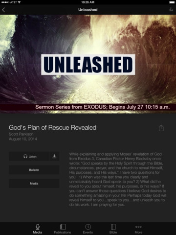 Trinity Baptist Church App screenshot 6