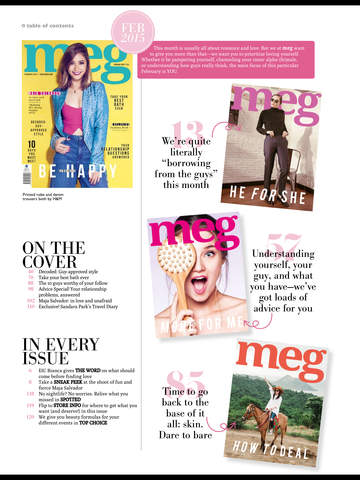 Meg Magazine screenshot 7