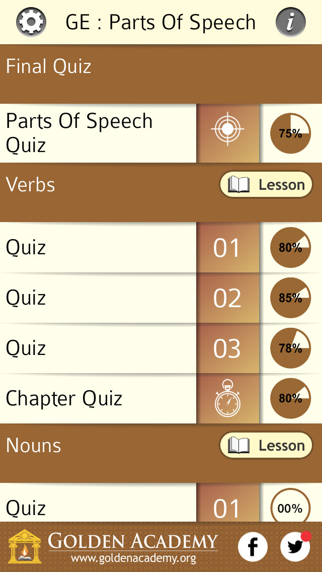 Grammar Expert : Parts Of Speech FREE screenshot 2