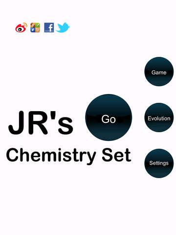 JR Chemistry Set for the iPad - náhled