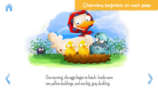 StoryToys Ugly Duckling - a deluxe interactive storybook screenshot 4