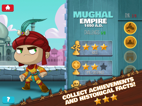 Empire Run – A Planet H game from HISTORY screenshot 7