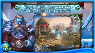 Living Legends: Frozen Beauty - A Hidden Object Fairy Tale screenshot 1