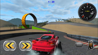 3D Stunt Car Race - eXtreme Racing Stunts Cars Driving Drift Games screenshot 1