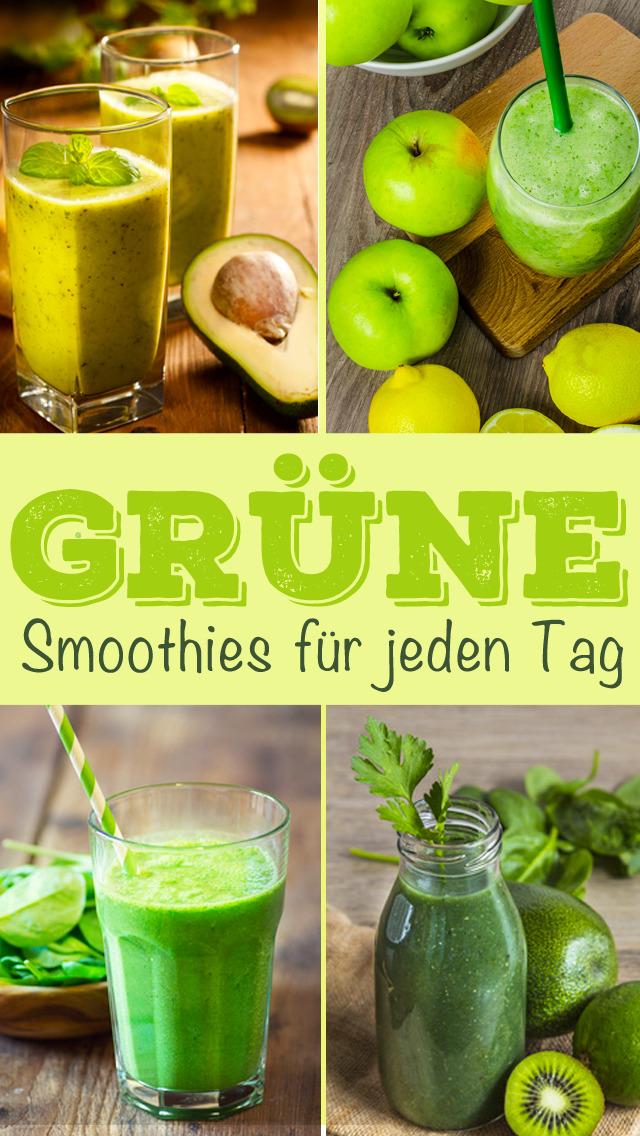 Grüne Smoothies Rezepte - Lecker und gesund screenshot 1