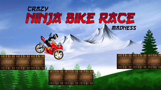 Crazy Ninja Bike Race Madness Pro - best road racing arcade game screenshot 1