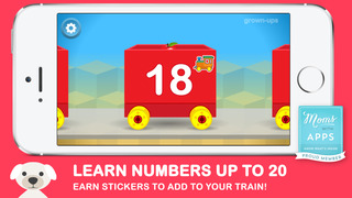 Number Train Kindergarten Maths screenshot 3