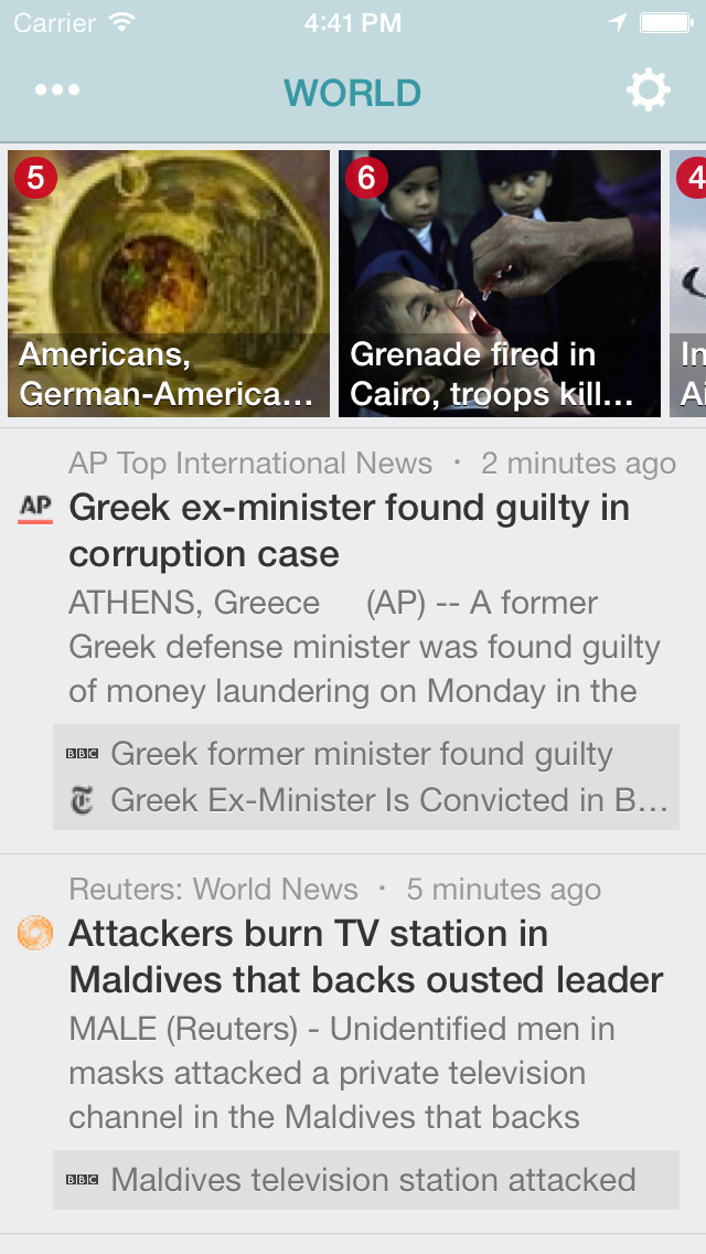 NewsFlash™ screenshot 2