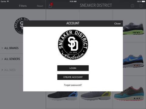 SneakerDistrict screenshot #3