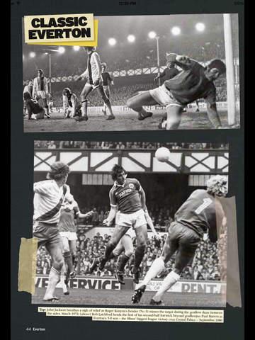 Everton Programmes screenshot 10
