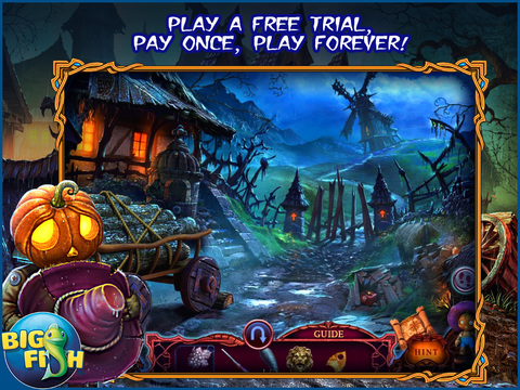 League of Light: Wicked Harvest HD - A Spooky Hidden Object Game screenshot 1